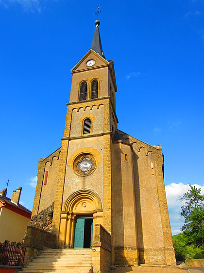 Bon Dimanche 420px-Eglise_Veckring