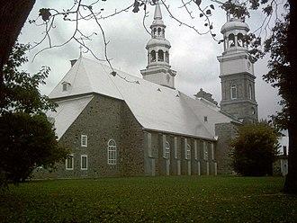 Church of La Visitation-de-la-Bienheureuse-Vierge-Marie - Image: Eglise Visitation Montreal arriere