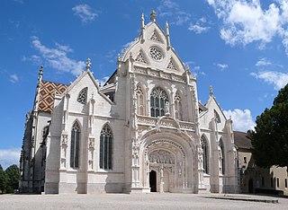 Royal Monastery of Brou monastery in Bourg-en-Bresse, France