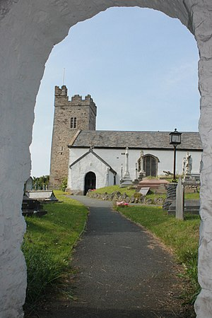 Rhos-on-Sea - Image: Eglwys Sant Trillo, Llandrillo yn Rhos, St Trillo, Rhos on Sea, Conwy 08