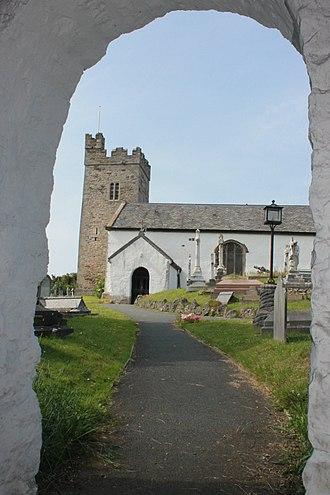 Rhos-on-Sea - Image: Eglwys Sant Trillo, Llandrillo yn Rhos, St Trillo, Rhos on Sea, Conwy 08