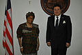 Egyptian Ambassador Maher El-Adawy with President Ellen Johnson Sirleaf.jpg
