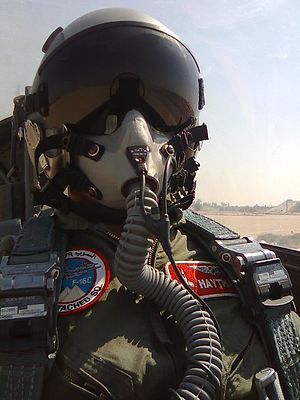 Egyptian Armed Forces - An Egyptian F16C Pilot
