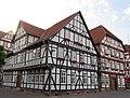 """Ehemalige """"Fleischschirne"""" von 1711, jetzt Stadthaus III (Rathaus) - Eschwege Ecke Marktstraße-Marktplatz - panoramio (2).jpg"""