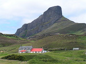 North Atlantic Igneous Province - An Sgurr, Eigg – largest exposed piece of pitchstone in the UK