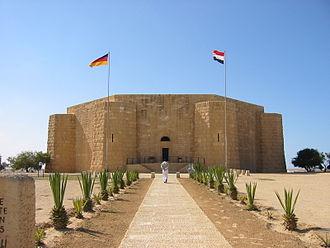 El Alamein - Image: El Alamein Deutsches Kriegsgraeberdenkmal
