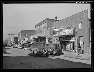 Eldorado, Illinois - According to the 1945 Film Daily Yearbook, the 500-seat Grand was one of three movie houses in operation at that time, which also included the Orpheum and the Knox. Today the former Grand is used as a meeting place for a fraternal order.