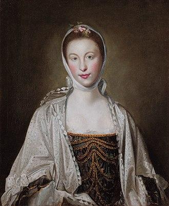 Elizabeth Rawdon, Countess of Moira - Elizabeth Hastings, by Joshua Reynolds