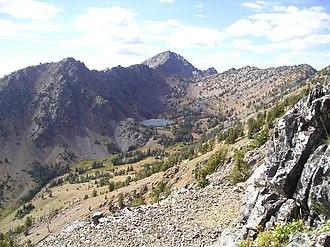 Elkhorn Mountains (Oregon) - Image: Elkhorn Mountains (Oregon)