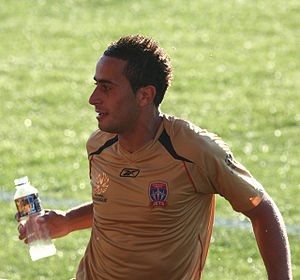 Tarek Elrich - Elrich with Newcastle United Jets.