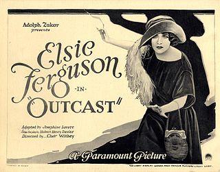 <i>Outcast</i> (1922 film) 1922 film