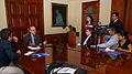 Embajador Emilio Izquierdo, Coordinador Político de UNASUR, concede declaraciones a la prensa (4341225556).jpg