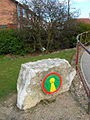 Emblem of the Haswell and Hart Railway Path - geograph.org.uk - 150755.jpg