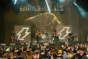Emil Bulls - Emil Bulls at the Reload Festival in 2016