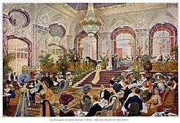 Wintergarten des Hotels Esplanade, Emil Limmer (1854–1931) [Public domain], via Wikimedia Commons