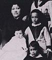 Emilie Widemann Macfarlane, Gardie, Alice, and F. Walter Macfarlane.jpg