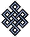 One form of the Endless knot of Buddhism
