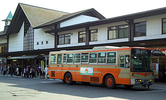 Enoshima Electric Railway - Enoden operates buses from stations like Kamakura