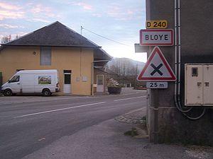Bloye - The main road into Bloye