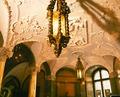 Entréhallen - Nedre vestibulen, del av taket - Hallwylska museet - 13752.tif