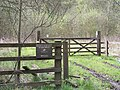 Entrance Gate to Bitholmes and Wantley Dragon Woods - geograph.org.uk - 860888.jpg