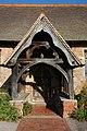 Entrance porch, Alfrick Church - geograph.org.uk - 591131.jpg