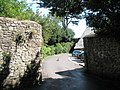 Entrance to the Tithe Barn, Dunster - geograph.org.uk - 925147.jpg