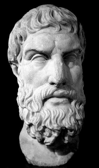 Epicurus - Roman marble bust of Epicurus