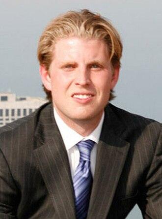 Eric Trump - Trump in 2009