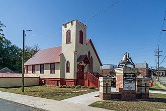 National Register of Historic Places listings in Davidson County, North Carolina - Image: Erlanger Mill Village Historic District, Lexington, North Carolina