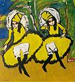 Ernst Ludwig Kirchner, Zwei Tänzerinnen, 1910-1911.jpg