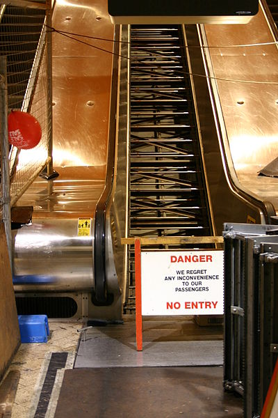 File:Escalator receiveing maintenance (from bottom).JPG