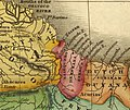 Essequibo River in 1826 Río Esequibo en 1826 Gran Colombia and British Guiana.jpg