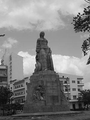 Maputo - The Monument to the Great War, erected as a memorial to the Portuguese that died during World War I.
