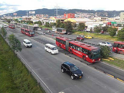 How to get to Calle 161a with public transit - About the place