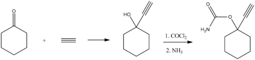 Ethinamate synthesis.png