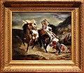 Eugène delacroix, il combattimento di giaour e hassan, 1826, 01.jpg