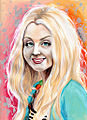 Evanna Lynch acrylic ink 2.jpg