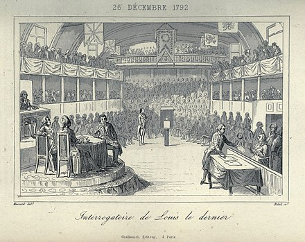 The interrogation of Louis XVI at the National Convention ExaminationLouistheLast.jpg