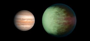 Kepler-7b - Image: Exoplanet Comparison Kepler 7 b
