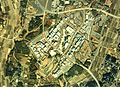 Expo 1985 aerial photograph of construction was taken in 1984.jpg