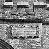 exterieur toegangstoren brouwerijgedeelte, gevelsteen (nederlandse tekst) - berkel-enschot - 20001122 - rce