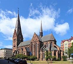 Exterior of Sankt Petri kyrka, Malmö (08).jpg