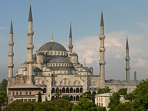 Exterior of Sultan Ahmed I Mosque, (old name P1020390.jpg).jpg