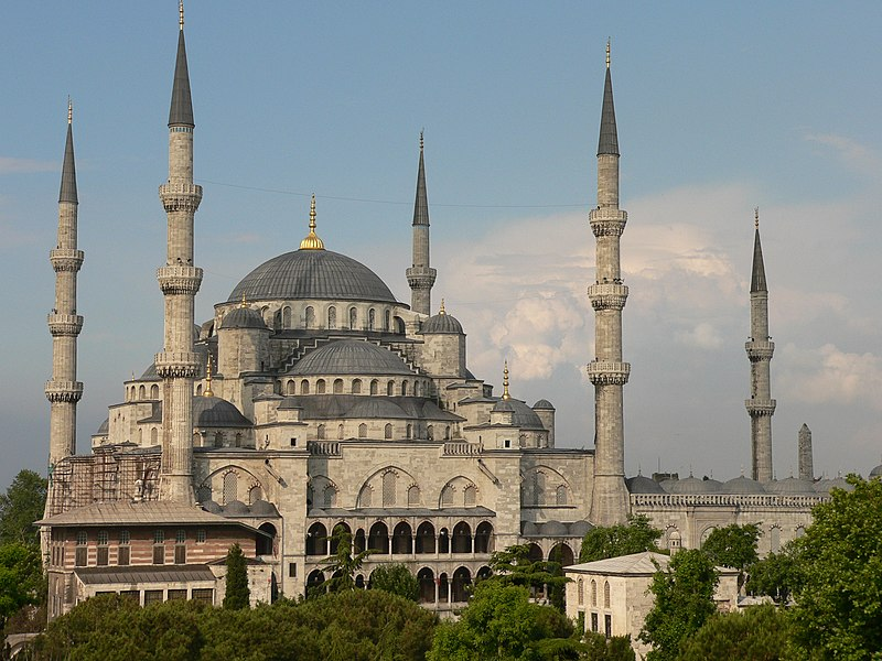 File:Exterior of Sultan Ahmed I Mosque, (old name P1020390.jpg).jpg