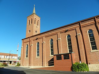 Roman Catholic Diocese of Springfield–Cape Girardeau - Cathedral of St. Mary of the Annunciation, Cape Girardeau