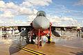 """F-16A Block 20 MLU (15106) de la Esquadra 301 """"Jaguares"""" de la Força Aérea Portuguesa (15353022620).jpg"""