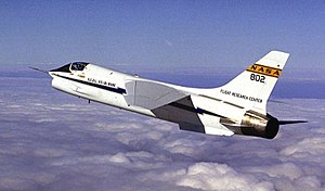 Fly-by-wire - F-8C Crusader digital fly-by-wire testbed