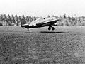 F4F-4 of VMF-121 landing at Guadalcanal 1942.jpg