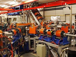 Free-electron laser - The free-electron laser FELIX at the Radboud University , Nijmegen, The Netherlands .